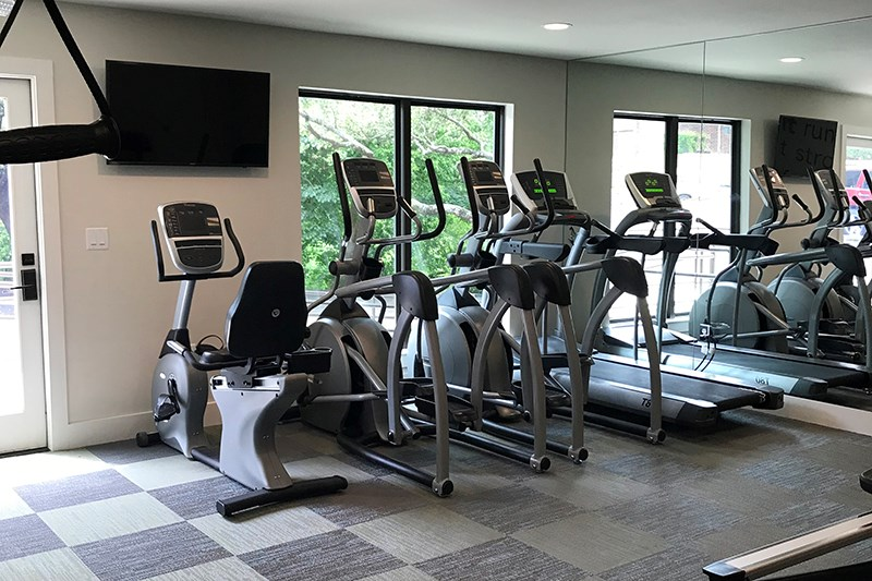 Fitness Center at Listing #140479