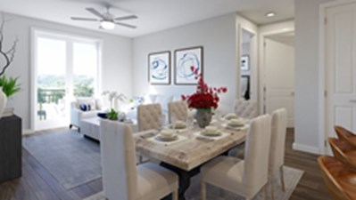 Living/Dining at Listing #311206