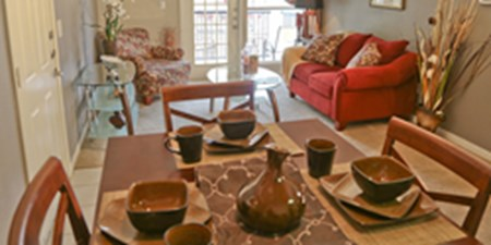 Living/Dining at Listing #141300