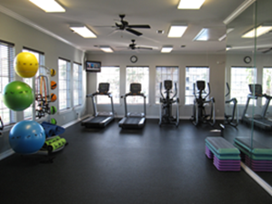 fitness center at Listing #147500