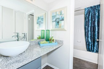 Bathroom at Listing #135735
