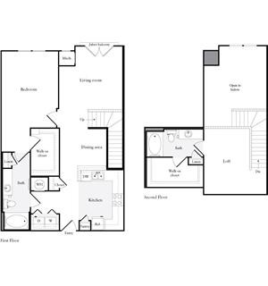 1,342 sq. ft. floor plan
