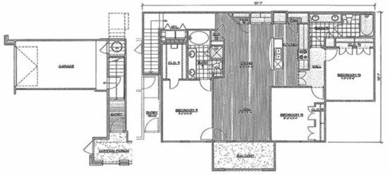 1,496 sq. ft. D2/Majesty floor plan