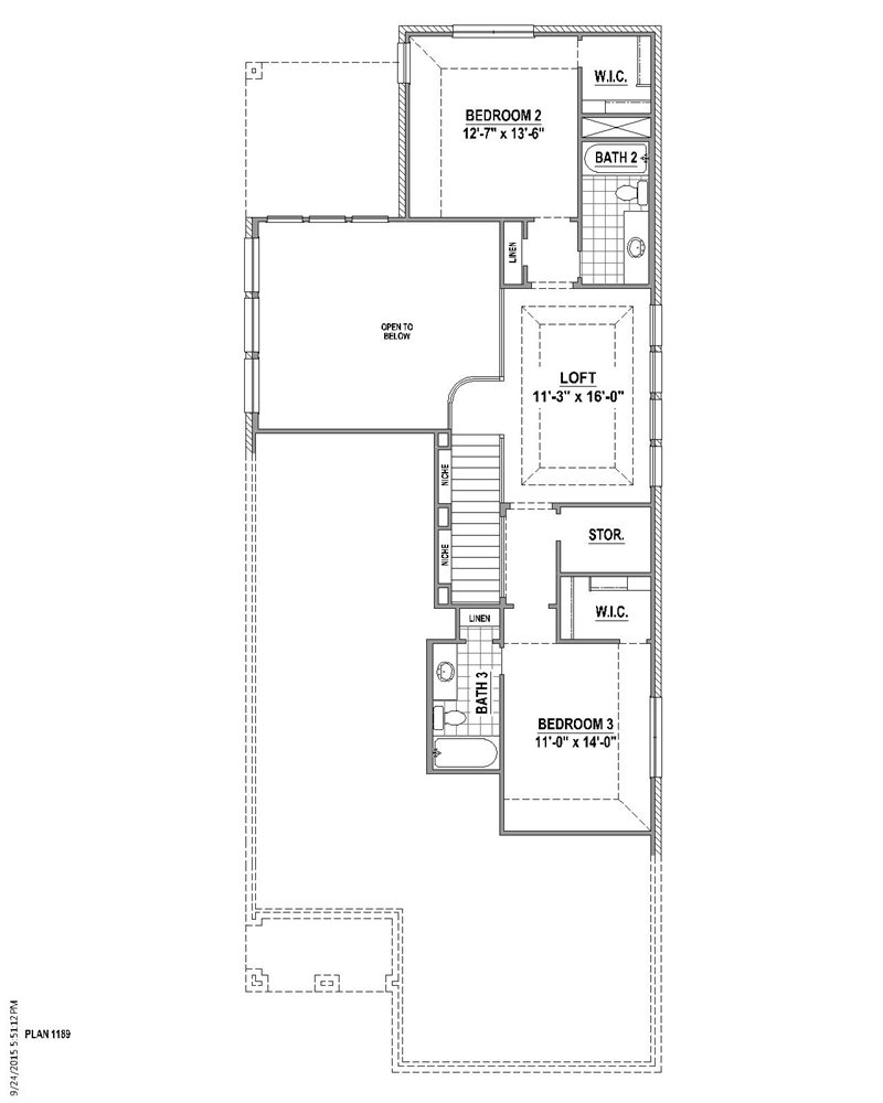 2,679 sq. ft. floor plan