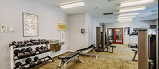 Fitness Center at Listing #140786