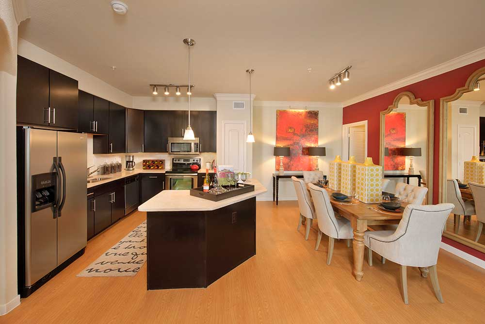 Dining/Kitchen at Listing #151567