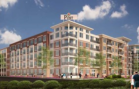 Post at Afton Oaks Apartments Houston TX
