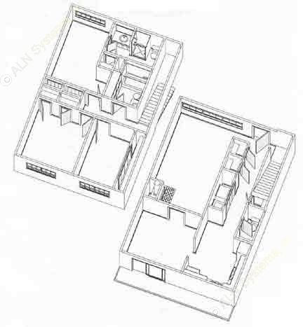 1,503 sq. ft. T3 floor plan
