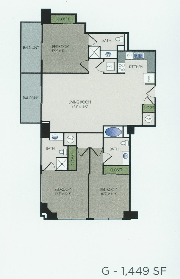 1,449 sq. ft. G floor plan