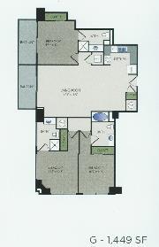 1,449 sq. ft. G floor plan