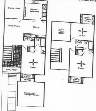 1,265 sq. ft. C1 floor plan
