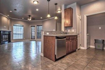 Living/Kitchen at Listing #239467
