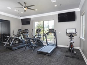 fitness center at Listing #137901