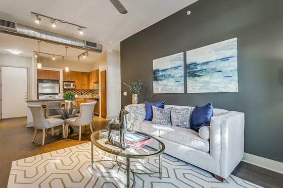 Living/Dining at Listing #146307