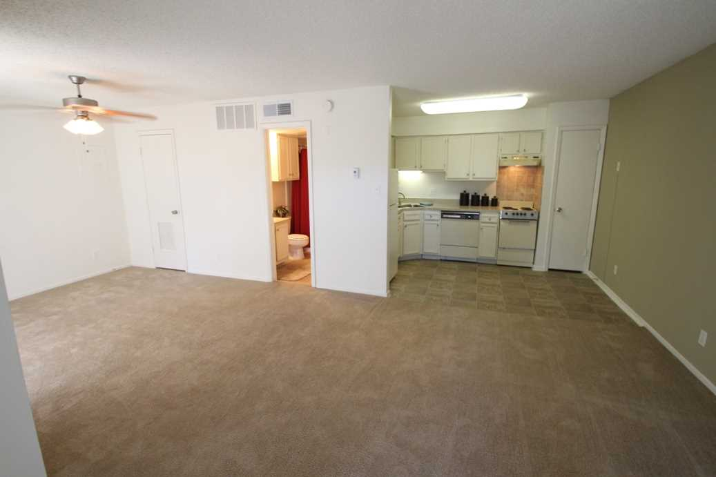 Living/Kitchen at Listing #135985