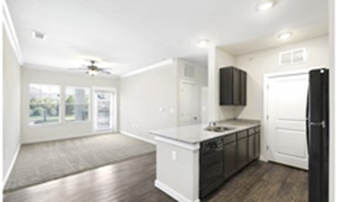 Living/Kitchen at Listing #281766