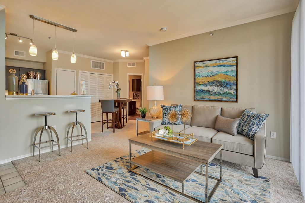 Living/Dining at Listing #137589