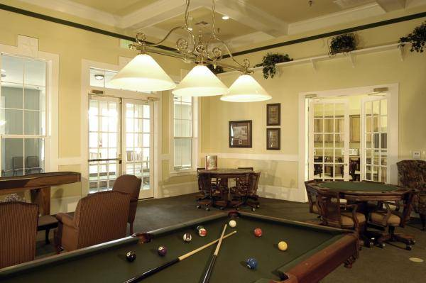 Gameroom at Listing #144554