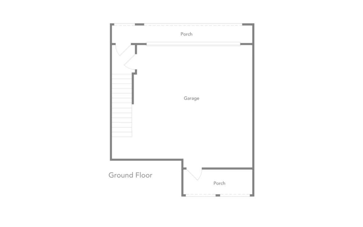 1,438 sq. ft. B4 floor plan