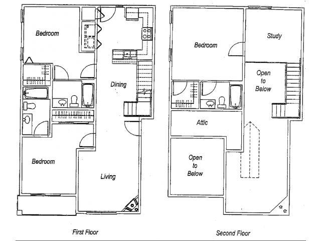 1,675 sq. ft. C4 floor plan