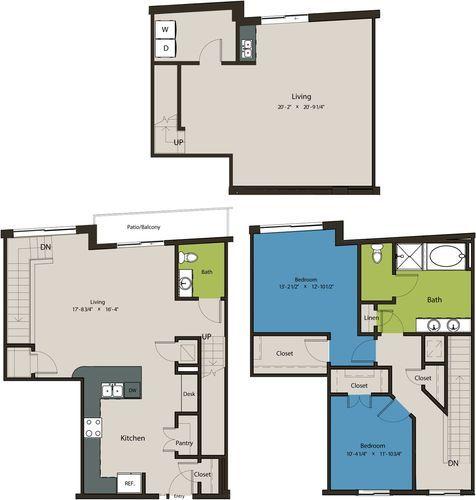 2,058 sq. ft. TSJ floor plan