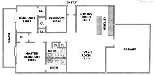1,314 sq. ft. Murtle floor plan