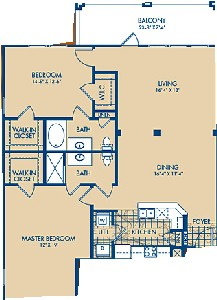 1,345 sq. ft. to 1,363 sq. ft. SAN FELIPE floor plan