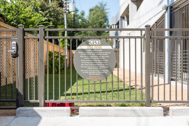 Dog Park at Listing #276673