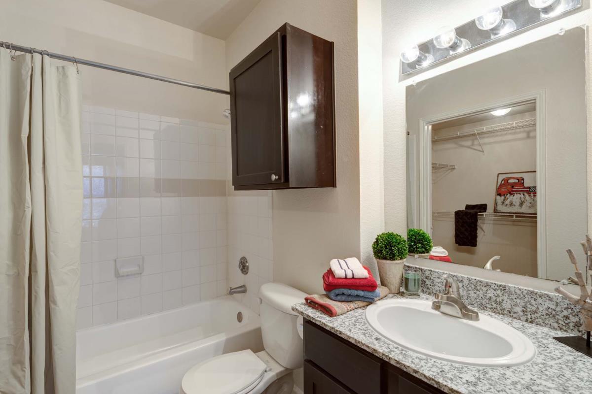 Bathroom at Listing #143945