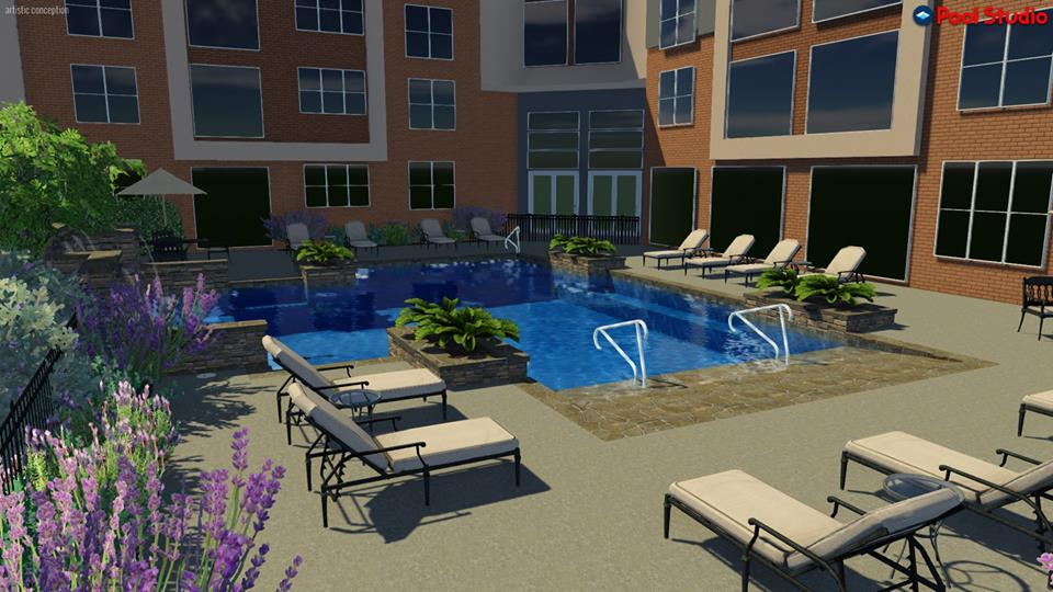 Pool at Listing #281195