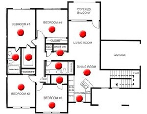 1,393 sq. ft. C floor plan