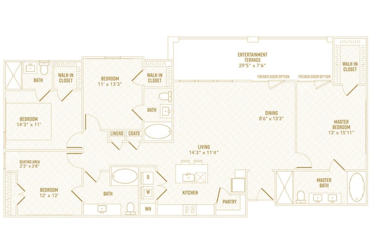 1,887 sq. ft. Beam floor plan