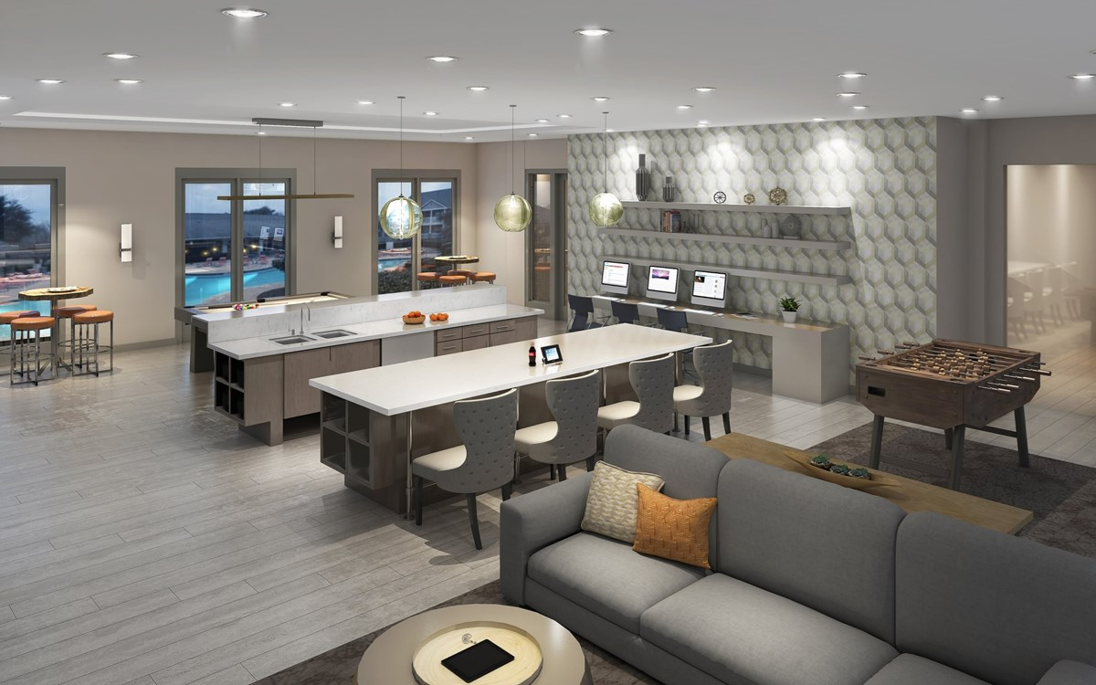 Clubhouse at Listing #137675