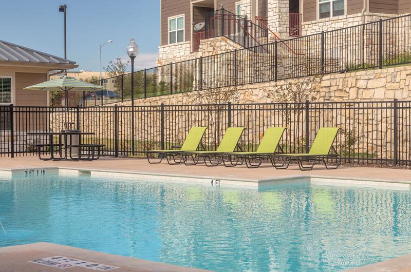 Pool at Listing #244631