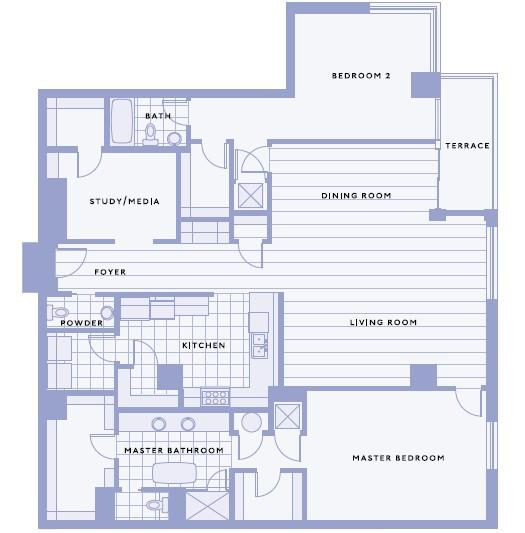 2,228 sq. ft. I floor plan