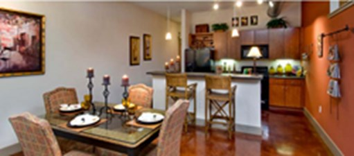 Dining/Kitchen at Listing #139356