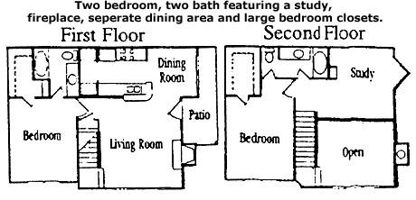 1,240 sq. ft. Magnolia floor plan