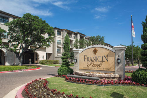 Franklin Park at Sonterra Apartments San Antonio TX