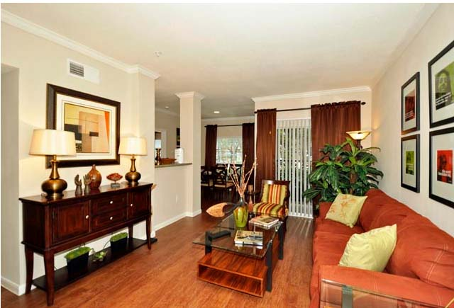 Living/Dining at Listing #138971