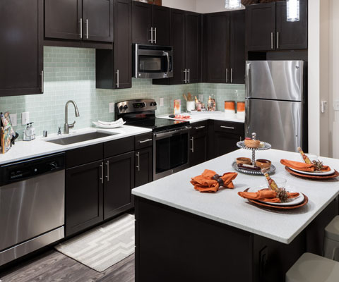 Kitchen at Listing #258896