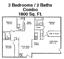 1,815 sq. ft. Q floor plan
