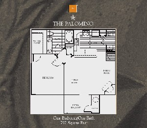 792 sq. ft. Palomino floor plan
