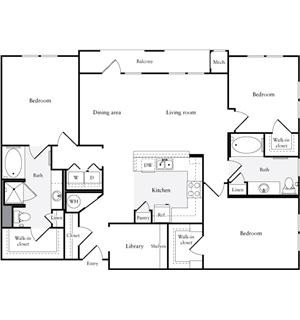 1,515 sq. ft. floor plan