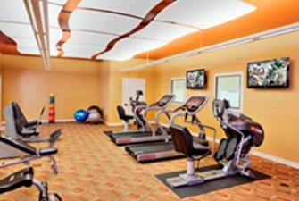 fitness center at Listing #149949