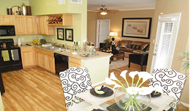 Dining/Kitchen at Listing #144214