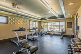 fitness center at Listing #226320