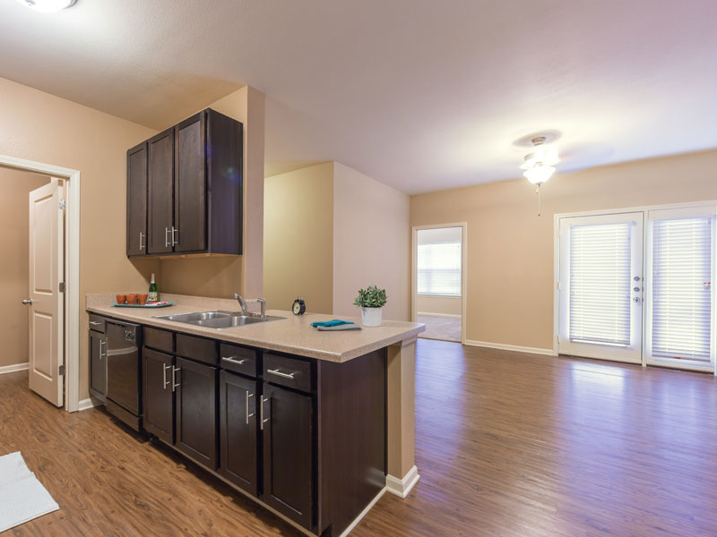 Living/Kitchen at Listing #264126