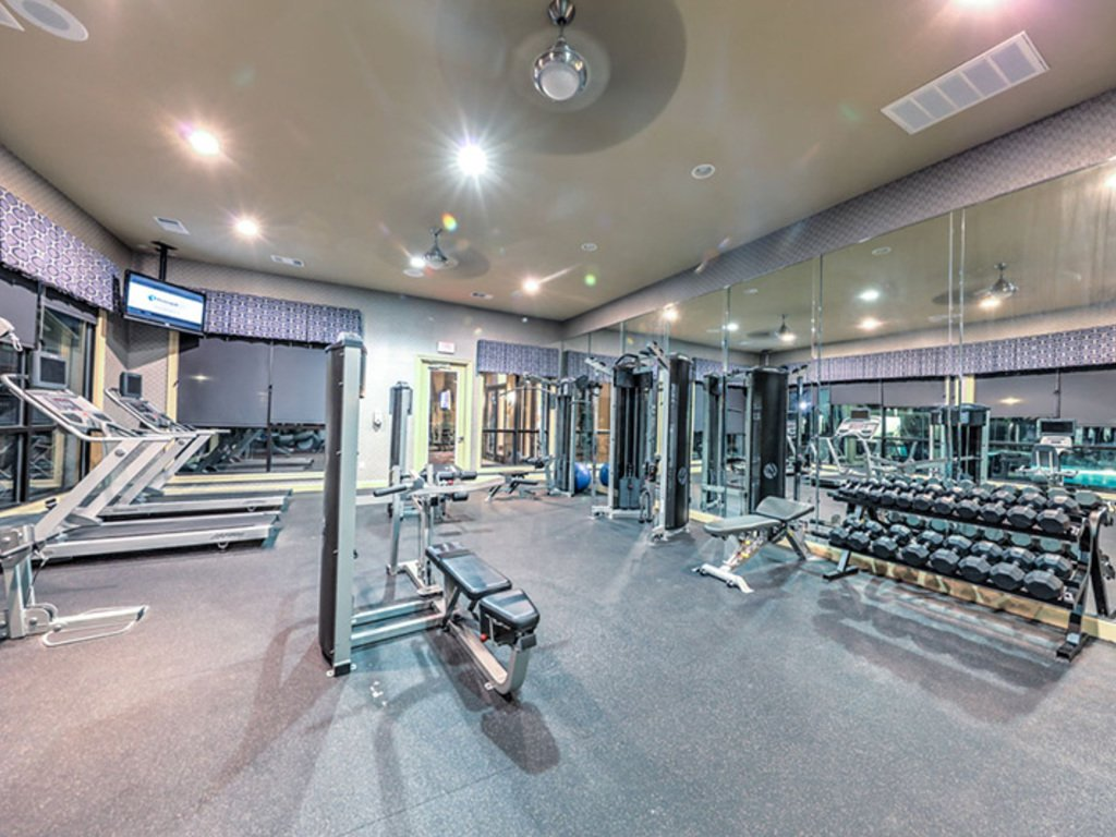 Fitness Center at Listing #151536