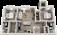 1,124 sq. ft. B2 floor plan