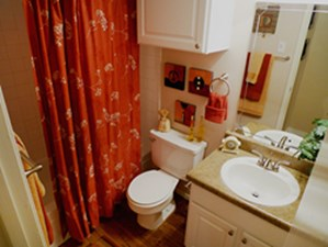 Bathroom at Listing #135662